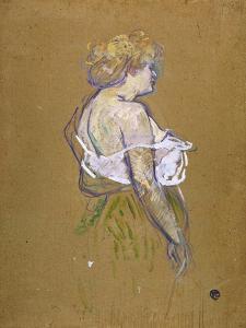 Lucie Bellanger, circa 1895-1896 by Henri de Toulouse-Lautrec