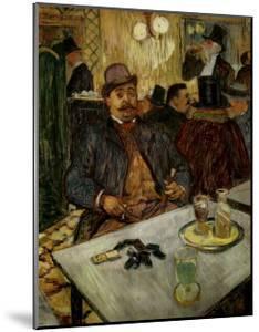 M. Boileau au Cafe by Henri de Toulouse-Lautrec