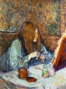 Madame Poupoule at Her Toilet, 1898 by Henri de Toulouse-Lautrec