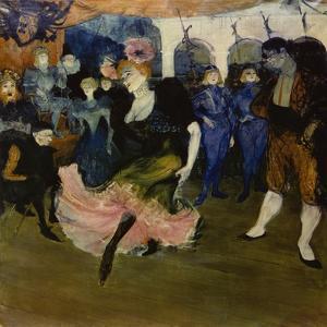 Marcelle Lender Dancing the Bolero in 'Chilperic', 1896 by Henri de Toulouse-Lautrec