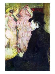 Maxim Dethomas by Henri de Toulouse-Lautrec