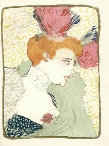 Mlle. Marcelle Lender En Buste by Henri de Toulouse-Lautrec