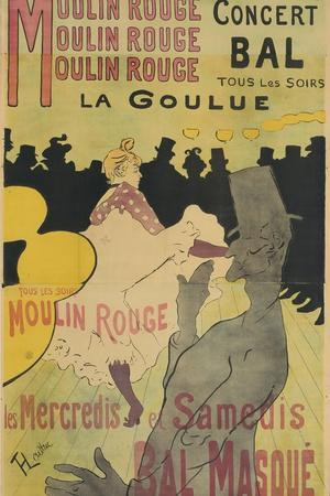 Moulin Rouge, La Goulue, 1891