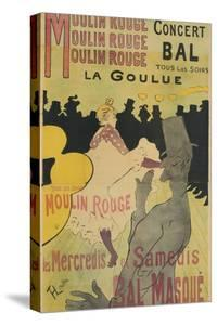 Moulin Rouge, La Goulue, 1891 by Henri de Toulouse-Lautrec