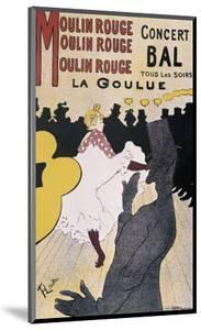 Moulin Rouge: La Goulue by Henri de Toulouse-Lautrec