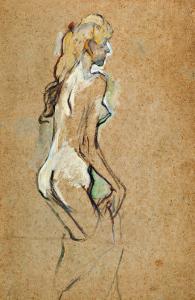 Nude Woman, 1893 by Henri de Toulouse-Lautrec
