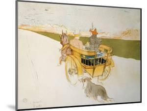 Partie De Campagne by Henri de Toulouse-Lautrec
