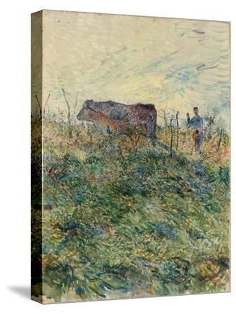 Ploughing in the Vineyard, 1883