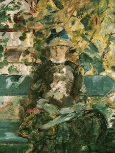 Portrait of Adele Tapie de Celeyran 1882 by Henri de Toulouse-Lautrec