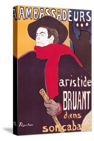 Poster Advertising Aristide Bruant in His Cabaret at the Ambassadeurs, 1892