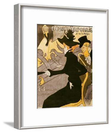 """Poster Advertising """"Le Divan Japonais"""", 1892"""