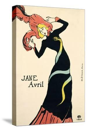 Poster for Jane Avril, 1899