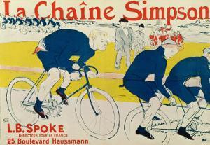 Poster for La Chaine Simpson, Bicycle Chains, 1896 by Henri de Toulouse-Lautrec