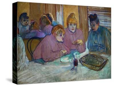 Prostitutes Around a Dinner Table, 1893