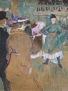 Quadrille at the Moulin Rouge, 1892 by Henri de Toulouse-Lautrec
