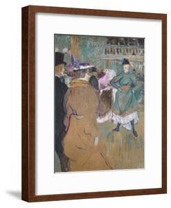 Quadrille at the Moulin Rouge, 1892 by Henri de Toulouse-Lautrec