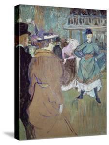 Quadrille in the Moulin Rouge, 1885 by Henri de Toulouse-Lautrec