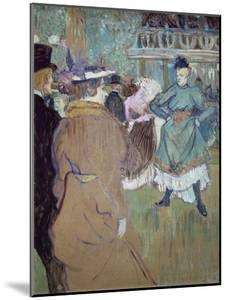 Quadrille in the Moulin Rouge, 1885 by Henri de Toulouse-Lautrec
