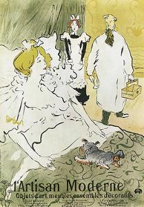 Qui, L'Artisan Moderne, 1894 by Henri de Toulouse-Lautrec