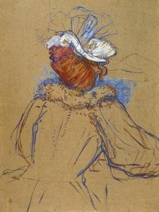 Red Haired Woman Seen from Behind, 1891 by Henri de Toulouse-Lautrec