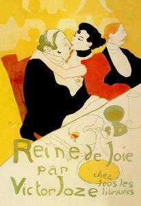 Reine de Joie by Henri de Toulouse-Lautrec