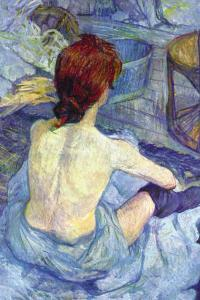 Rousse The Toilet by Henri de Toulouse-Lautrec