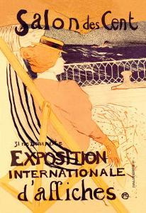 Salon des Cent: Exposition Internationale d'Affiches by Henri de Toulouse-Lautrec
