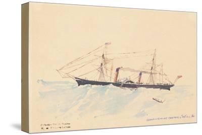 Scotia', a Cunard Steamship, C.1879-80