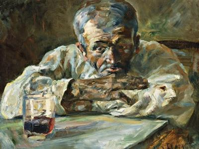 The Alcoholic, Father Mathias by Henri de Toulouse-Lautrec