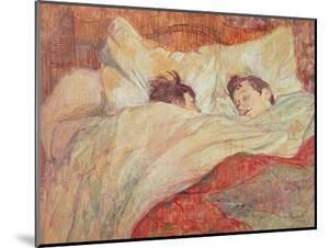 The Bed, circa 1892-95 by Henri de Toulouse-Lautrec