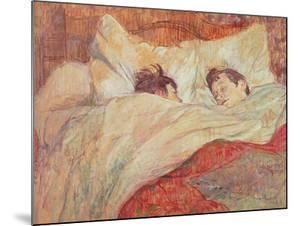 The Bed, circa 1892-95 by Henri de Toulouse-Lautrec