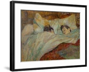 The Bed (Le Lit), 1892 by Henri de Toulouse-Lautrec