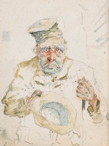 The Beggar of Albi, C.1880 by Henri de Toulouse-Lautrec
