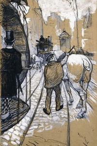 The Coach Driver of the Omnibus Company, 1888 by Henri de Toulouse-Lautrec