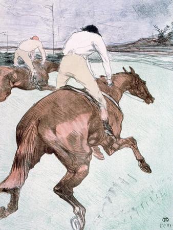 The Jockey, 1899 by Henri de Toulouse-Lautrec