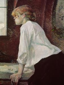The Laundress, 1889 by Henri de Toulouse-Lautrec