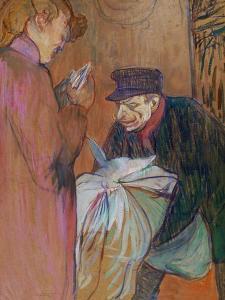 The Laundryman of the House, 1894 by Henri de Toulouse-Lautrec