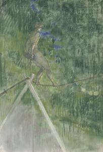 The Rope Dancer by Henri de Toulouse-Lautrec