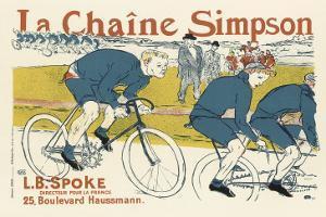 The Simpson Bicycle Chain by Henri de Toulouse-Lautrec