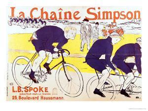 The Simpson Chain, 1896 by Henri de Toulouse-Lautrec