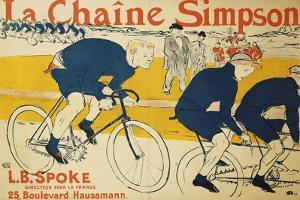 The Simpson Chain; La Chaine Simpson, 1896 by Henri de Toulouse-Lautrec