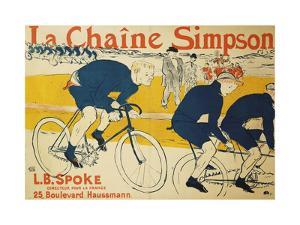 The Simpson Chain by Henri de Toulouse-Lautrec