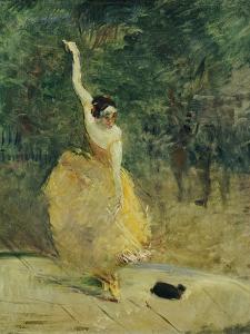 The Spanish Dancer, 1888 by Henri de Toulouse-Lautrec