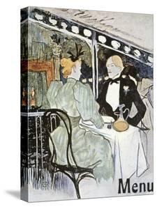 Toulouse-Lautrec: Menu by Henri de Toulouse-Lautrec