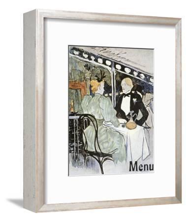 Toulouse-Lautrec: Menu