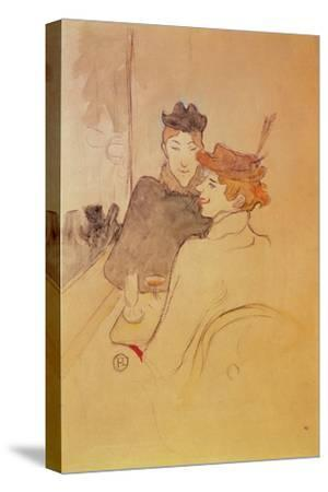 Two Women Sitting in a Cafe