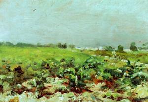 View of the Vineyards, 1880 by Henri de Toulouse-Lautrec