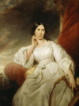 Maria Malibran-Garcia (1808-1836), dans le rôle de Desdémone, à l'acte III