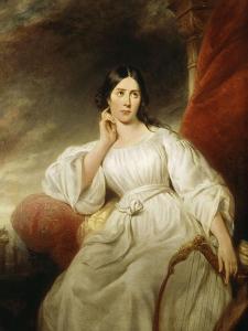 Maria Malibran-Garcia (1808-1836), dans le rôle de Desdémone, à l'acte III  by Henri Decaisne