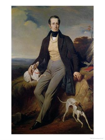 Portrait of Alphonse de Lamartine 1830